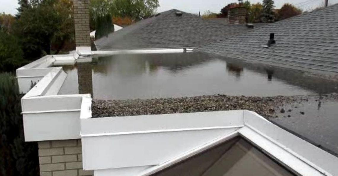 Comment isoler une toiture plate le blog de l 39 habitat Isoler toiture par exterieur