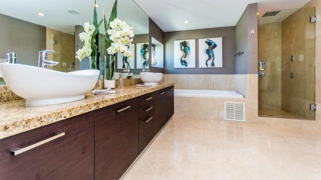 ceramique sol salle de bain