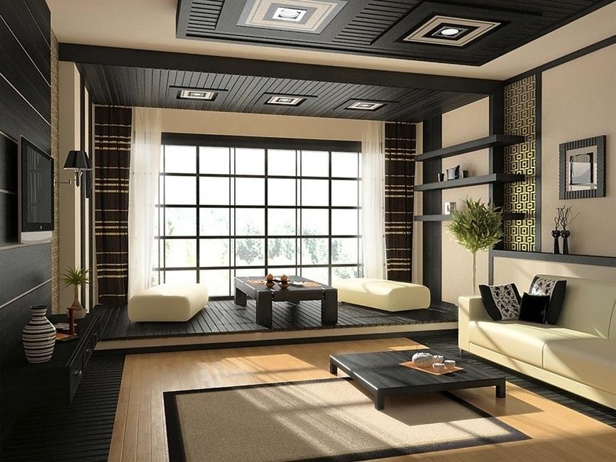 comment apporter une touche japonaise sa d coration d. Black Bedroom Furniture Sets. Home Design Ideas