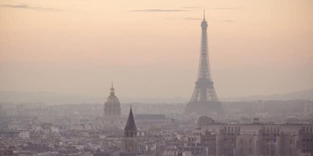 pollution atmosphérique urbaine paris