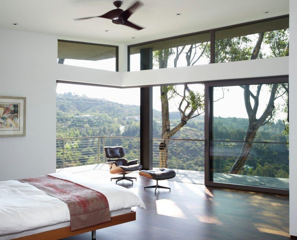 optimiser eclairage naturel chambre ouverture