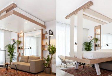 idées pour optimiser l'espace d'une petite chambre