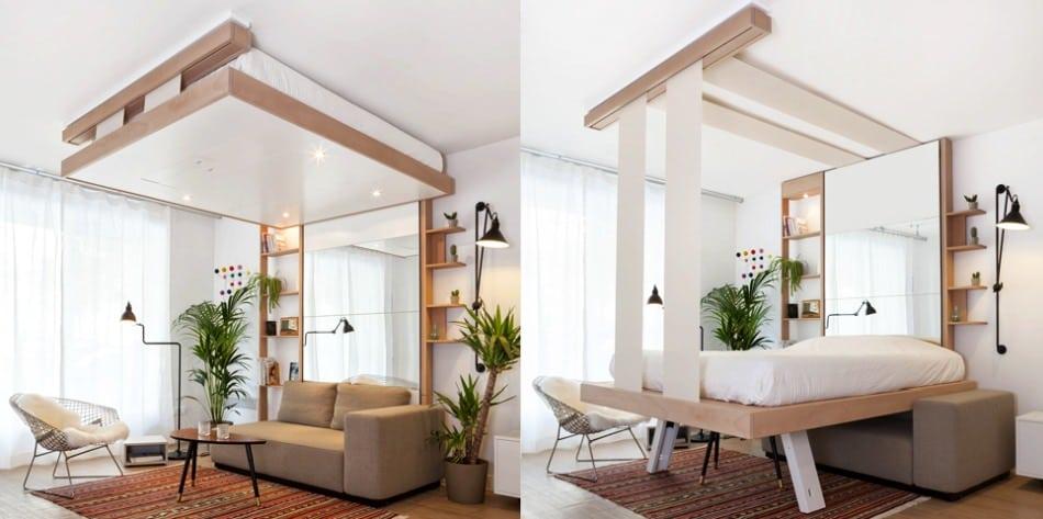4 idées pour optimiser l\'espace d\'une petite chambre - Blog Habitat ...