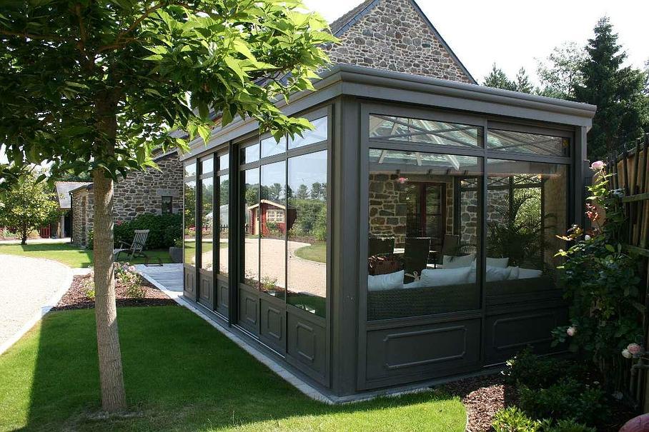 extension de maison par veranda