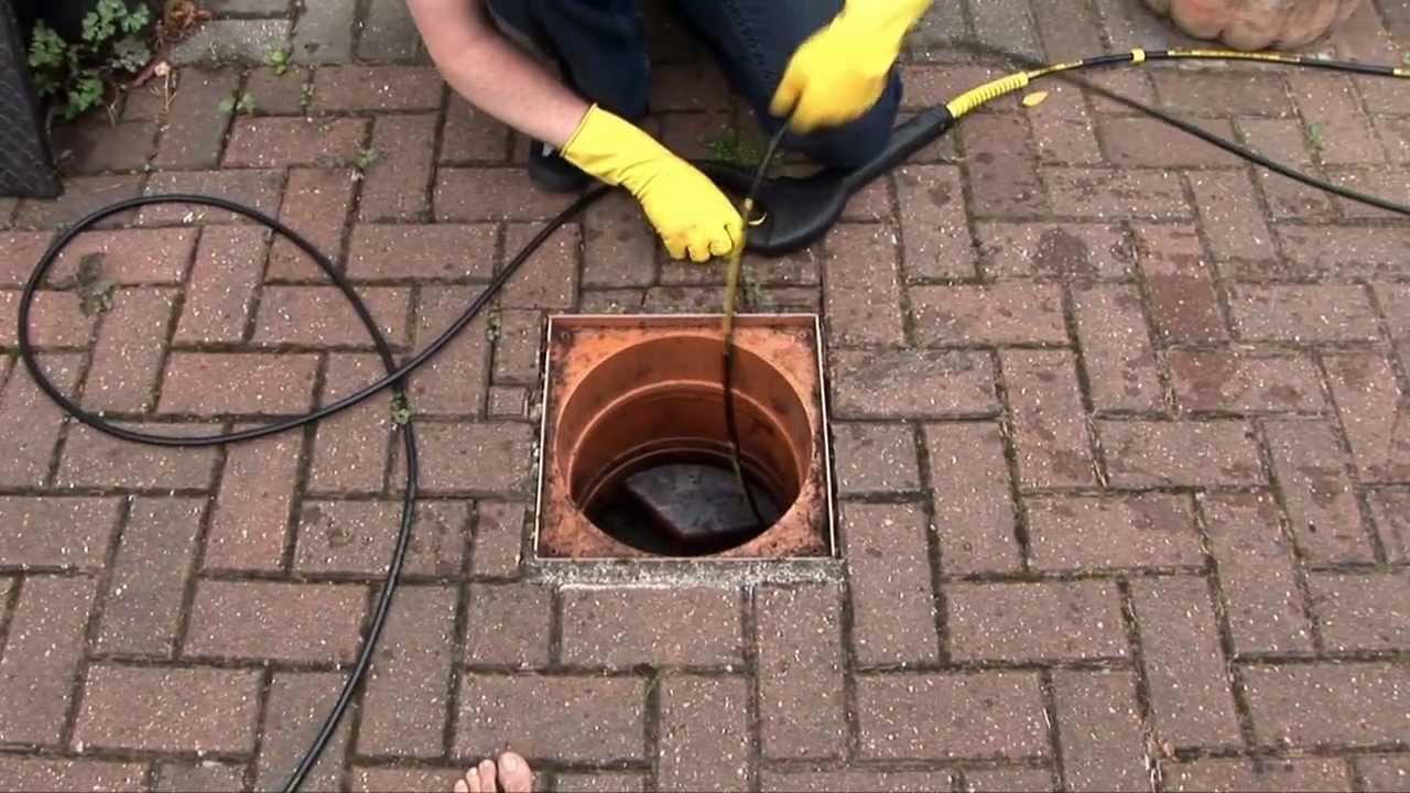 karcher pour deboucher une canalisation