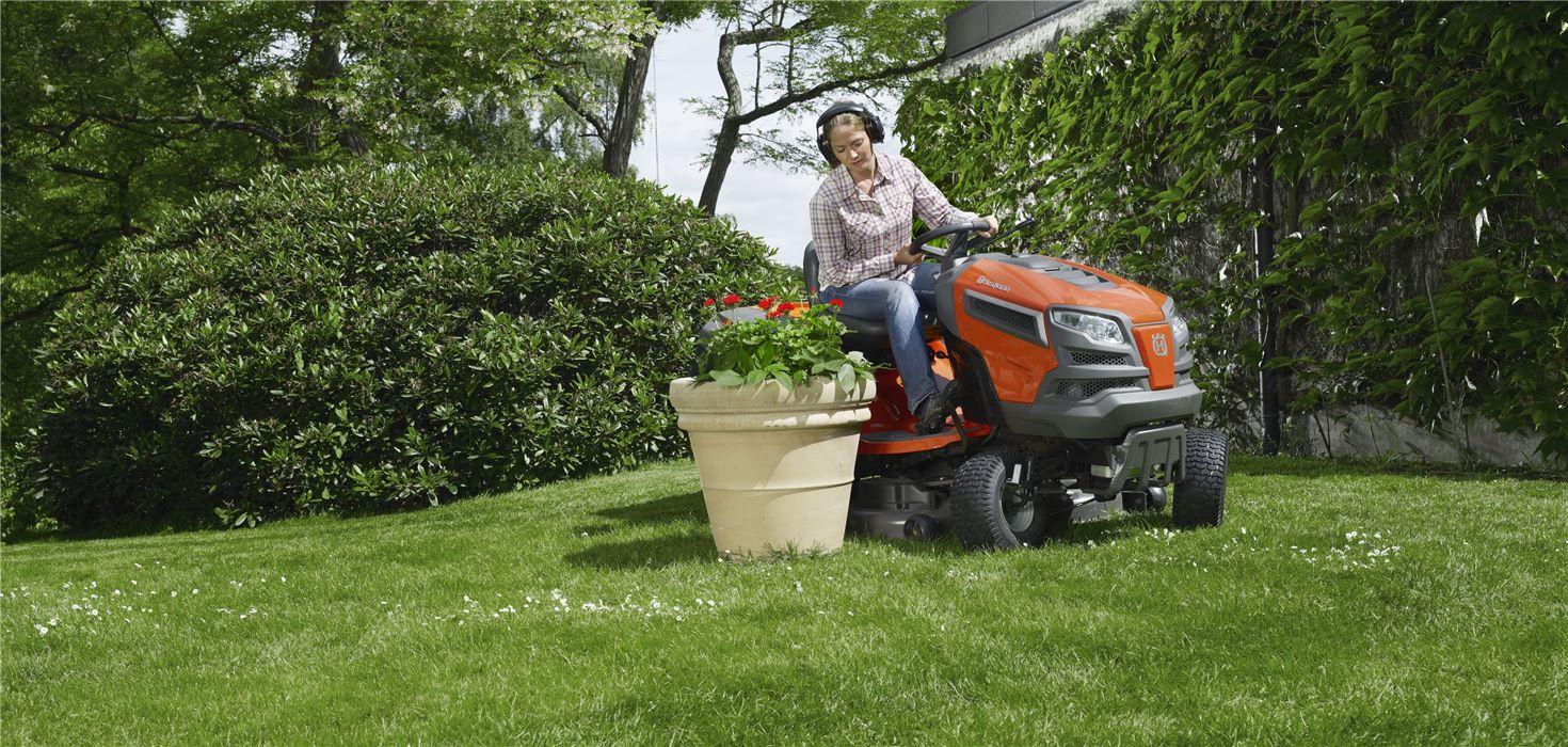 avantages tracteur tondeuse
