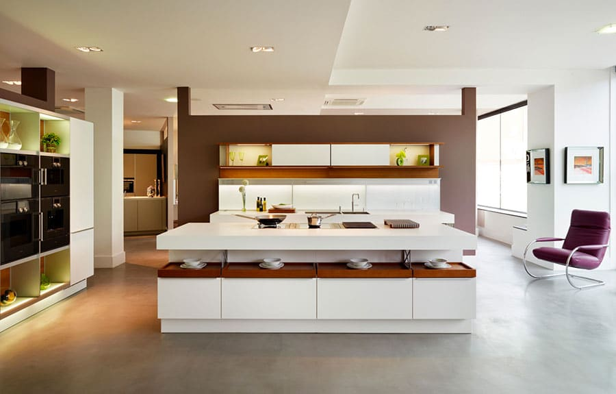 Comment r ussir votre cuisine avec un lot central - Taille ilot cuisine ...