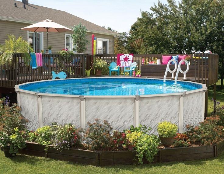 piscine hors-sol jardin terrasse