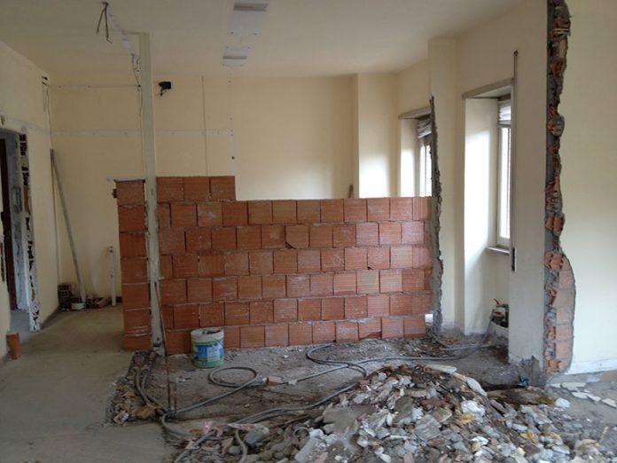 travaux de renovation important