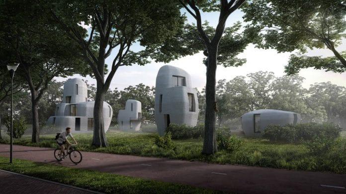 impression 3 d maison lotissement Eindhoven