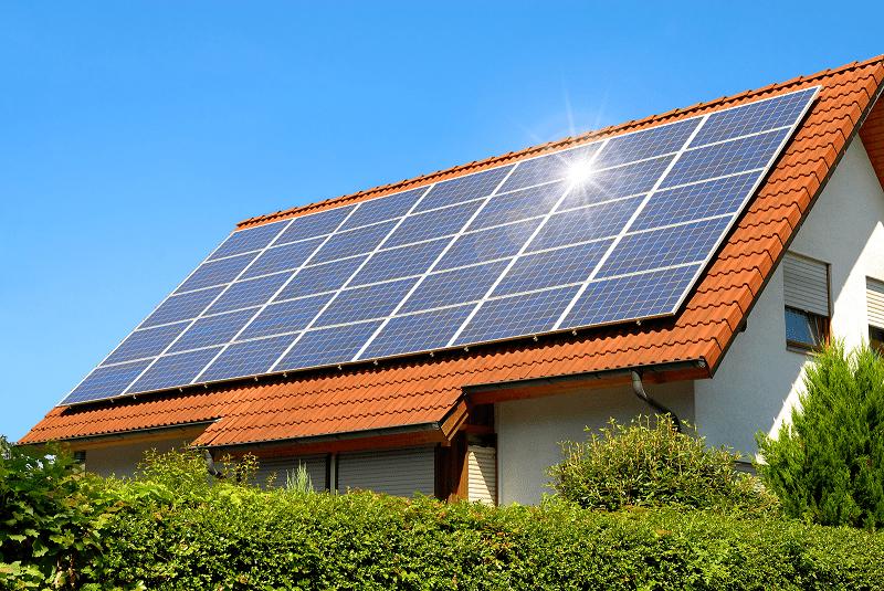 panneau photovoltaique toit maison