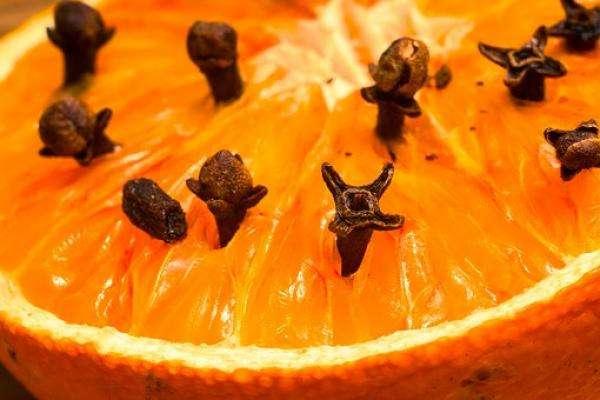 clou-girofle-plantés-dans-une-orange-antimites