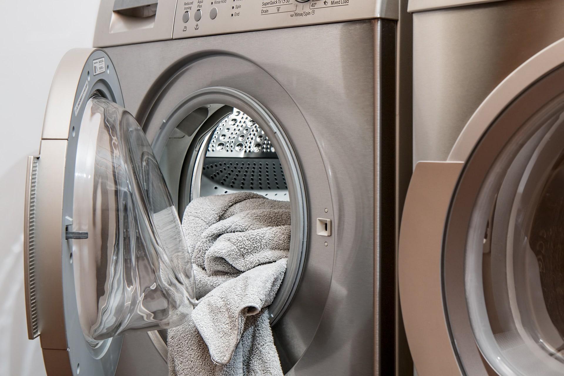 Odeur de machine à laver - linge oublié