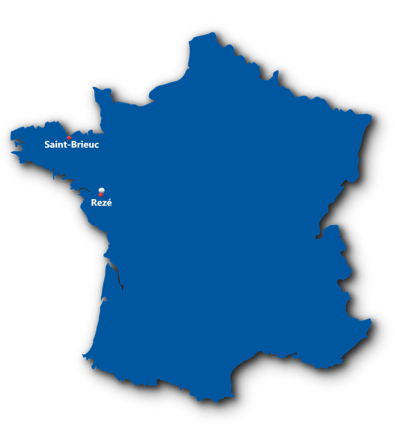 Carte des villages Tiny House en France 2019