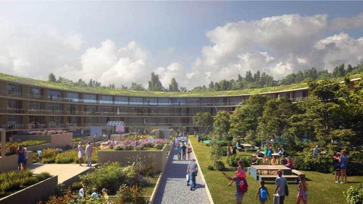 Habitat durable à Oslo - bien vivre ensemble