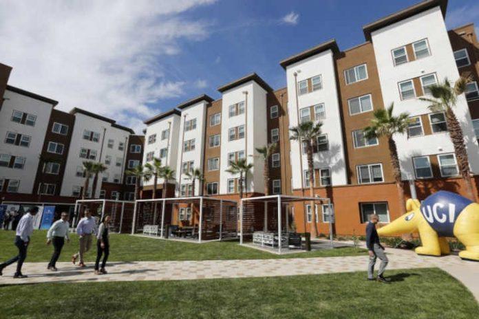 Residence etudiante durable université Californie Irvine