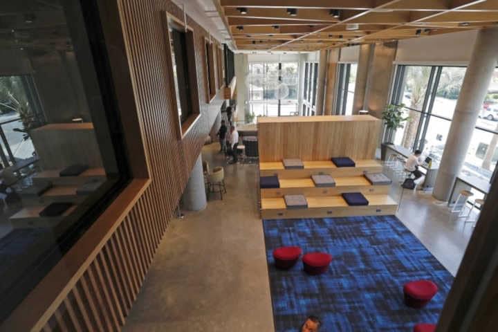 Residence etudiante durable université Californie Irvine intérieur