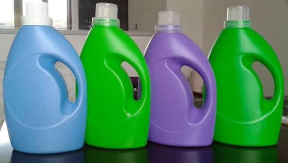 bouteilles de lessive