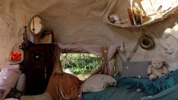 Maison de hobbit en Bretagne - Kerterre
