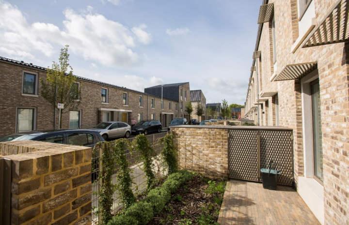 logements sociaux durables avec jardinet
