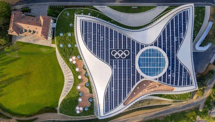 quartier général du comité international olympique