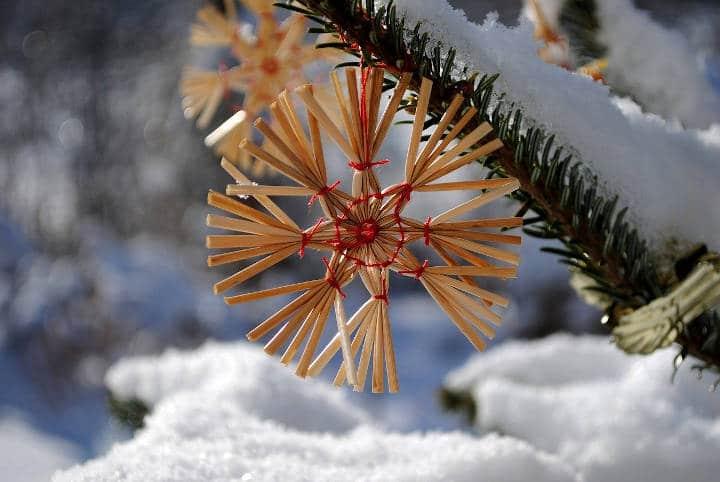 décoration de noël durable inspiration nordique