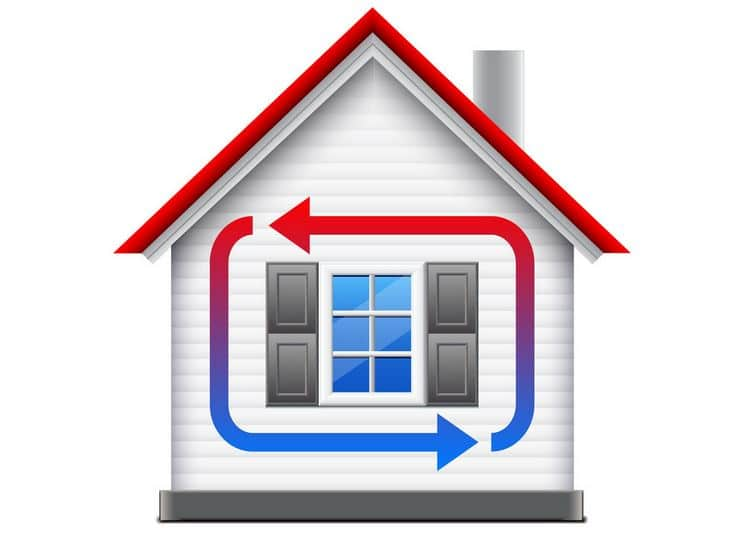 eviter deperdition chaleur habitation