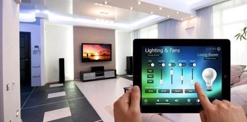maison connectée eclairage