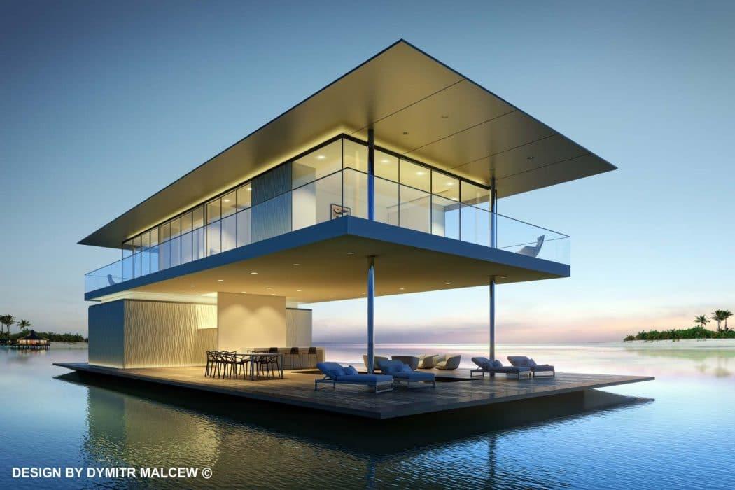 Maison flottante : concept, avantages, construction