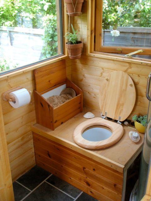aménagement de toilettes seches