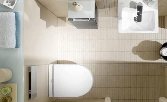 dimension idéale et minimum pour des WC