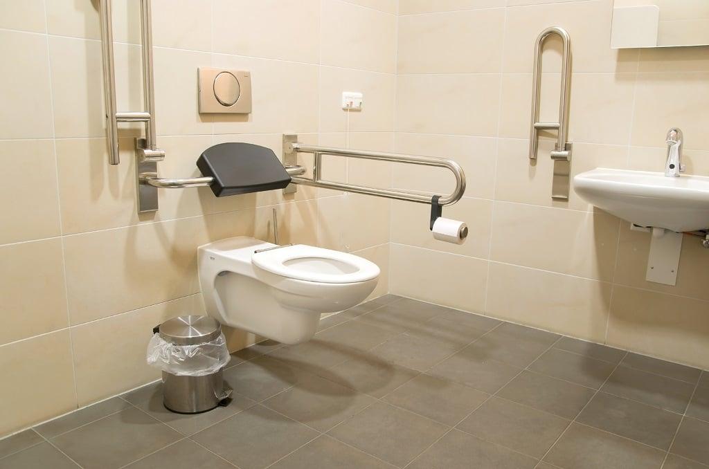 taille toilettes handicapées