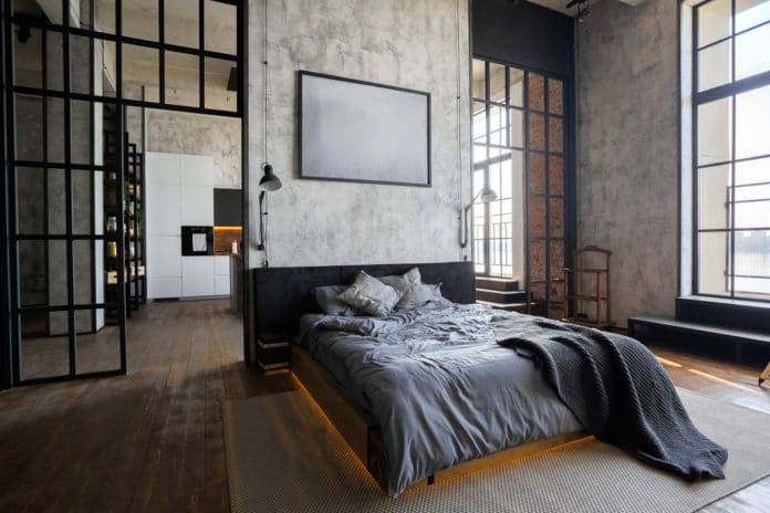 Codes et conseils pour faire une chambre style industriel (6)