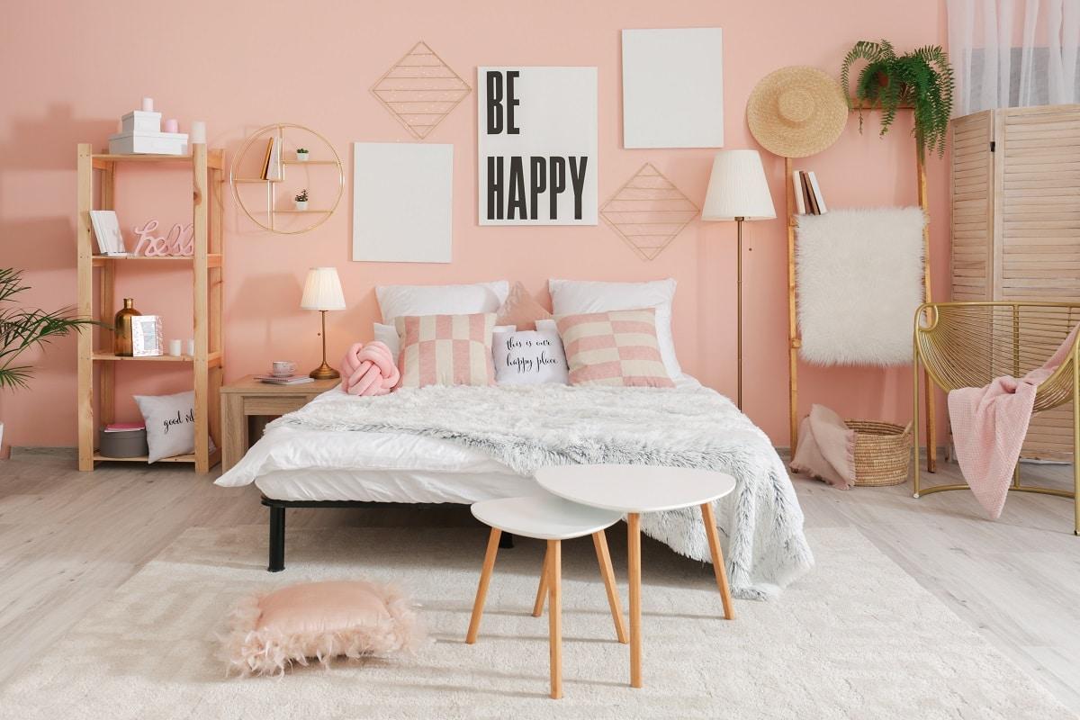 chambre chambre rose
