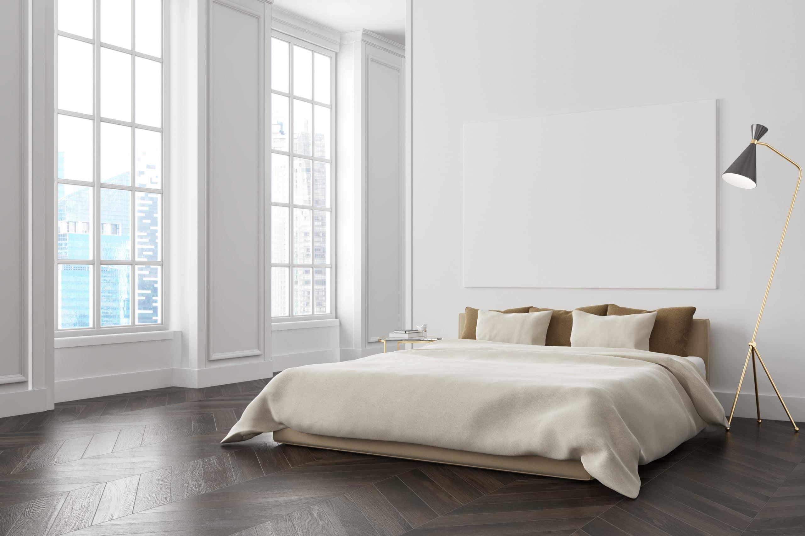 chambre couleur blanc