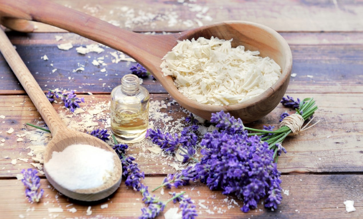 ingredients lessive maison au savon de Marseille
