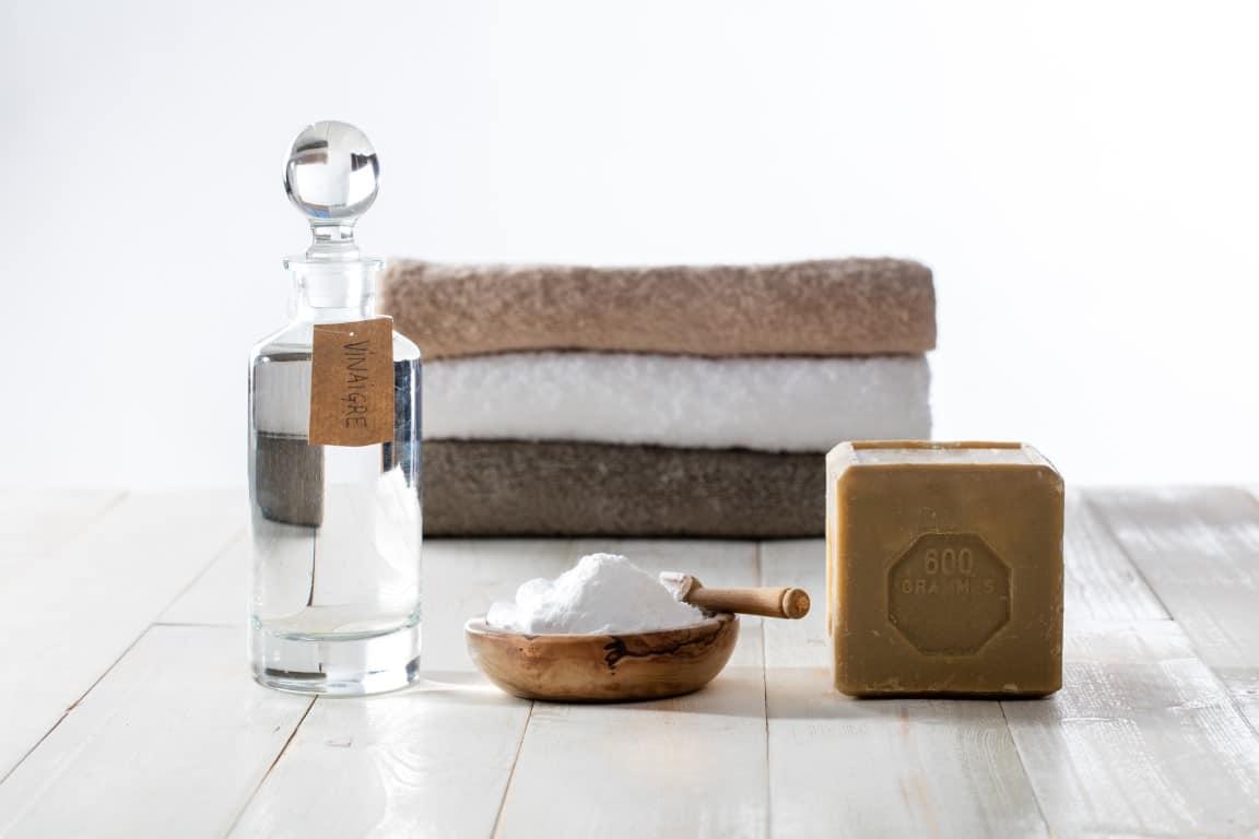 produits naturels pour blanchir le linge