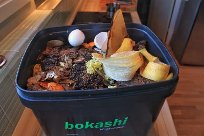 bokashi compost fermentation