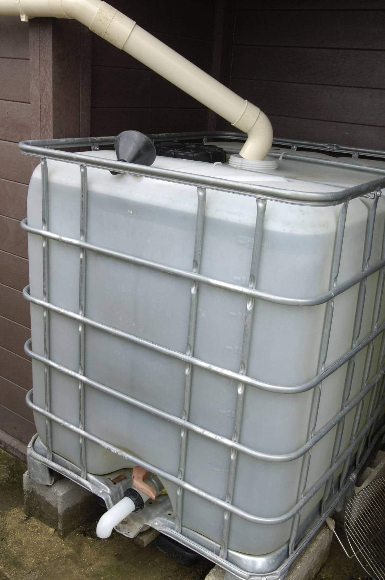 stocker et récuperer eau de pluie