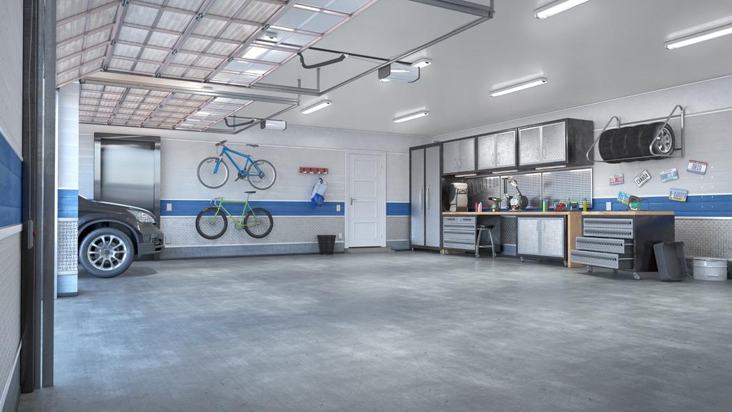 eclairage garage LED