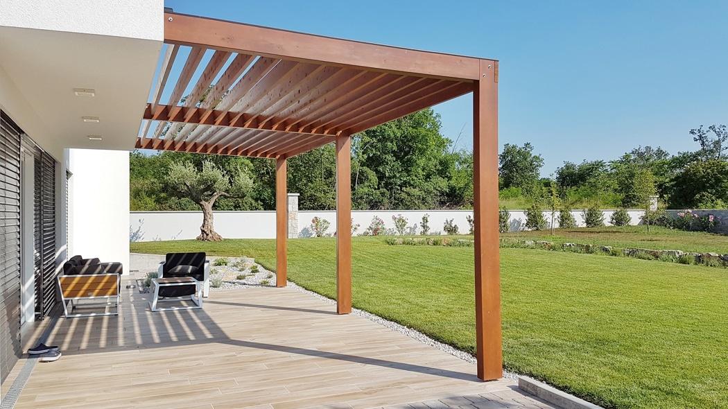 aménagements de jardin bois