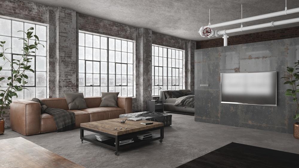 créer un loft industriel