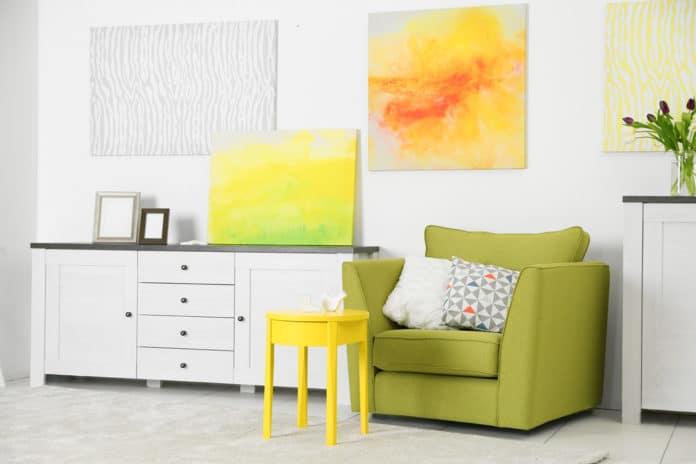 peinture sur toile decoration