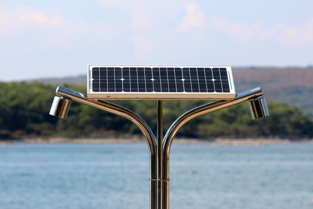 douche solaire